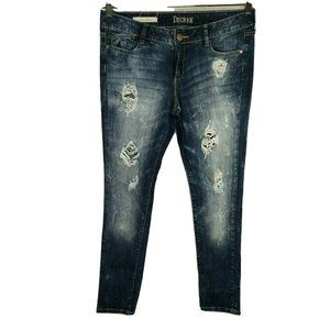 Decree Ripped Destoyed Super Skinny Jeans Size 13